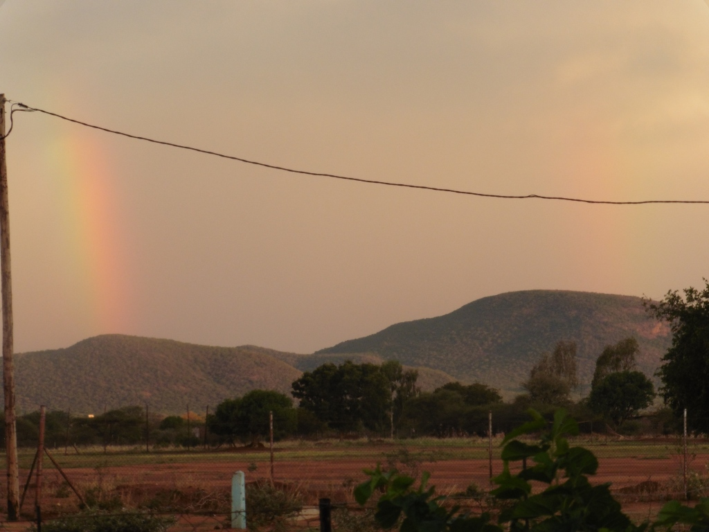 partial double rainbow