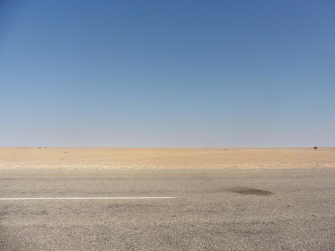 drive home Kalahari side