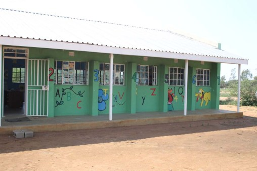 One of the two classrooms