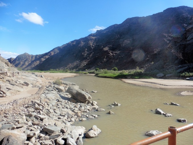 1-Fish River Canyon Ai Ais Camp